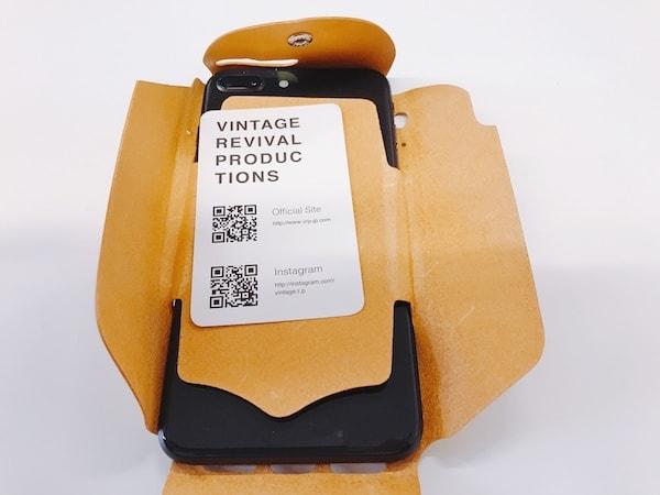 革製のおしゃれなiPhoneケースi Wear スイカ パスモ 収納