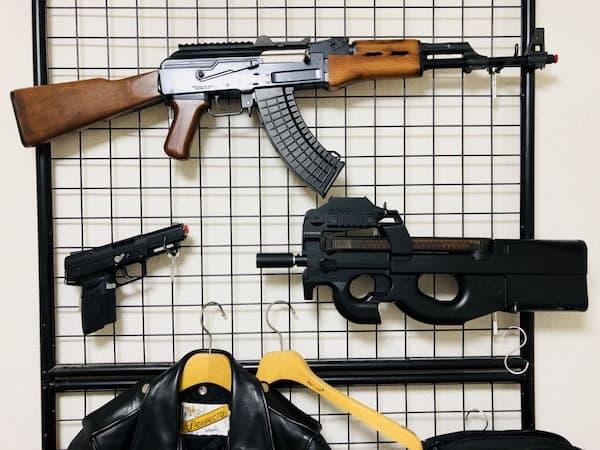 AK47とP90とFN57